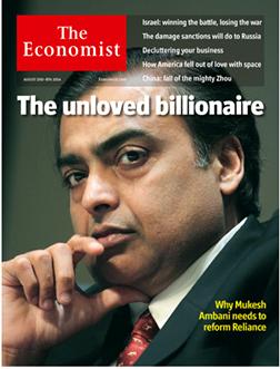 economist mukesh ambani