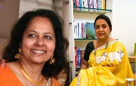 L-R: Mamta Malhotra and Tanuja Jain