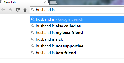 husband is