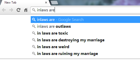 inlaws are