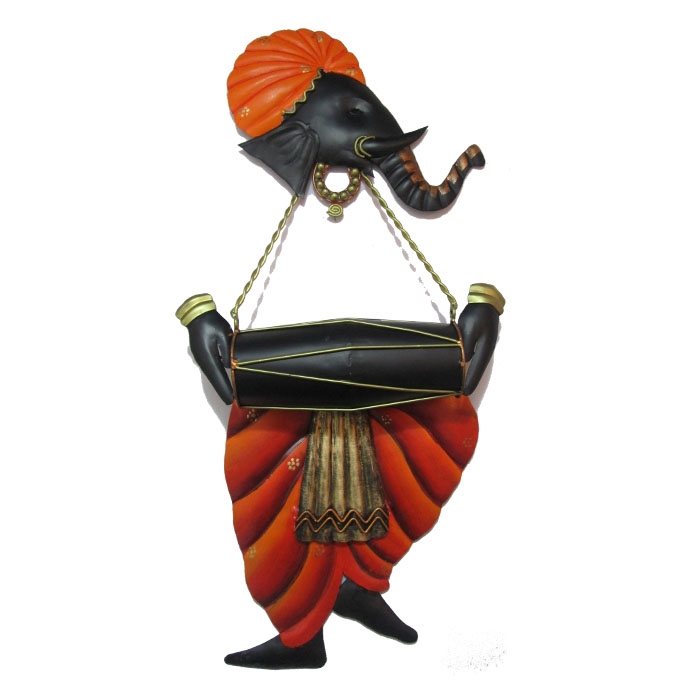 Craftter Ganesh Musician Wall Hanging, Rs 5,499