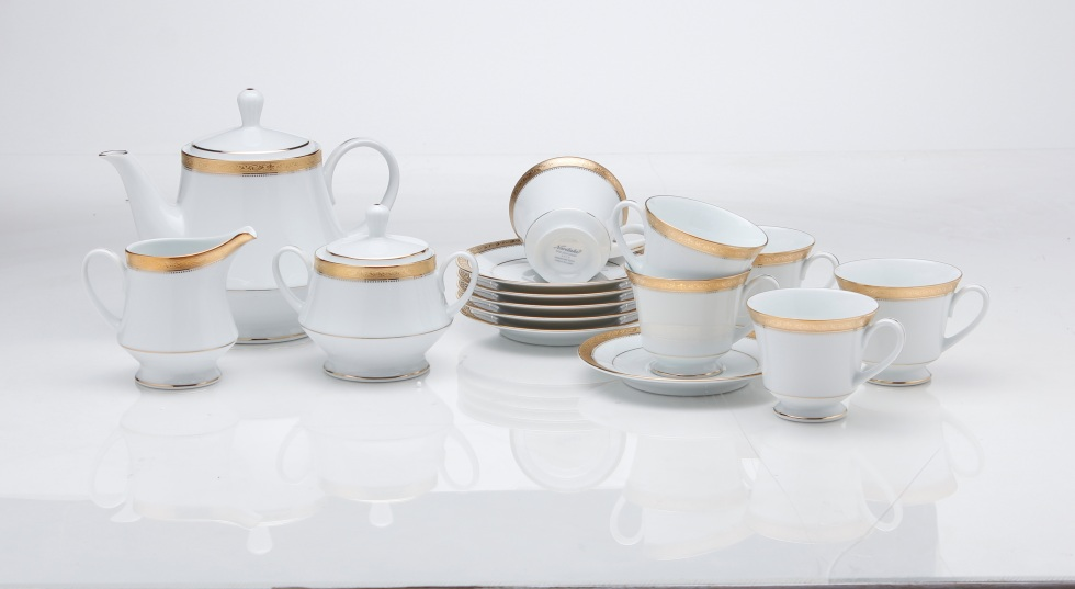 Noritake Signature Gold Tea Set of 17 pieces, Rs 16,156
