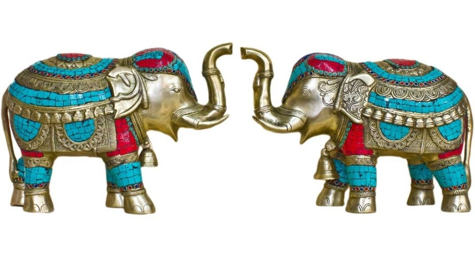 Pure Divine Elephant Pair, Rs 35,999