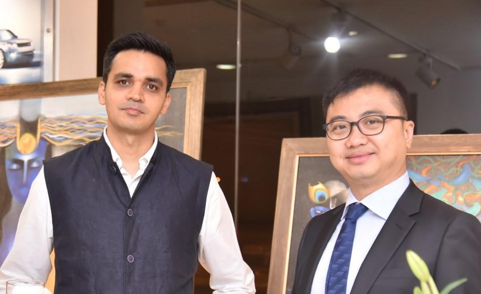 Anshul Gupta with Xavier Ho