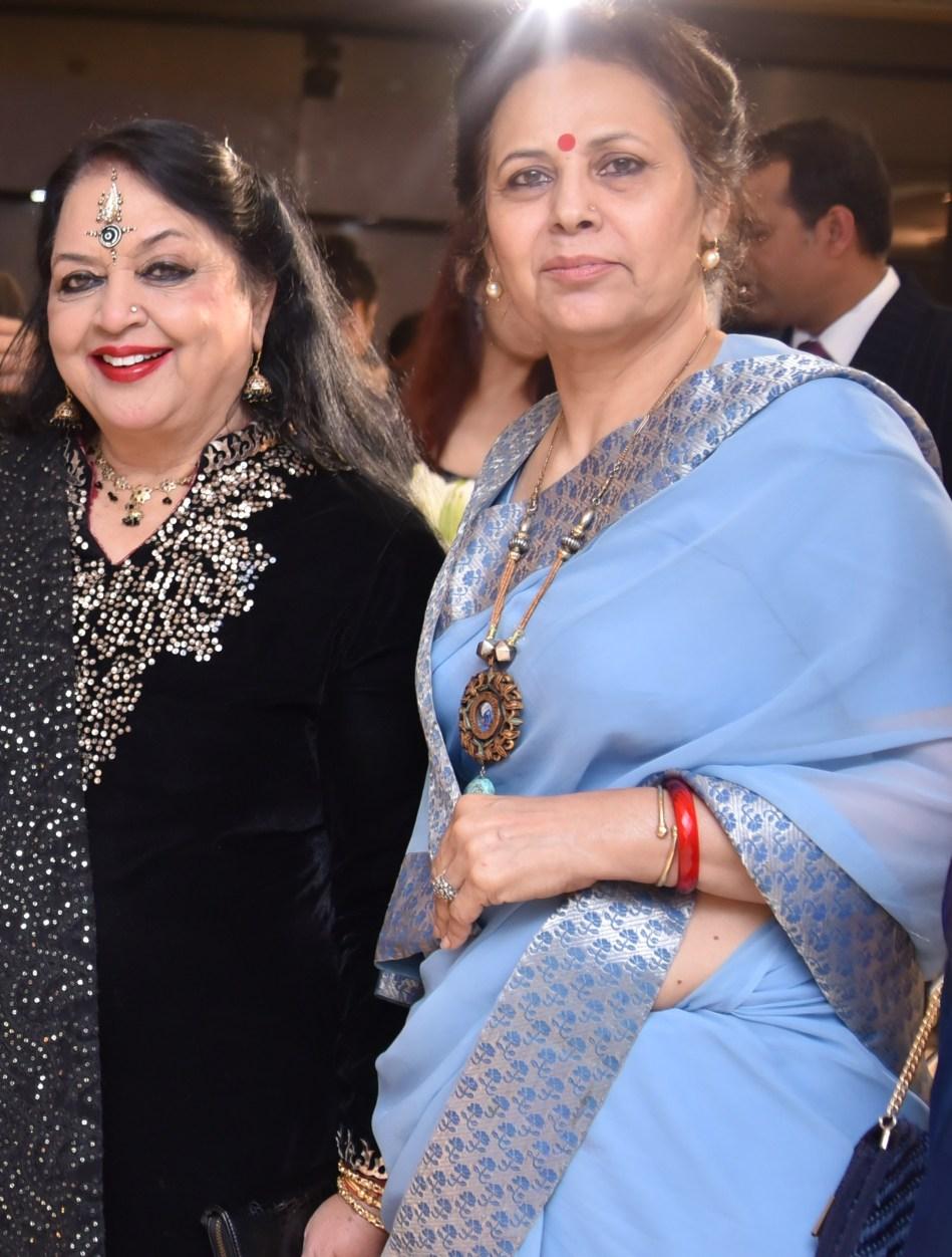 Rama Pandey with Kunwarani Bharti Singh