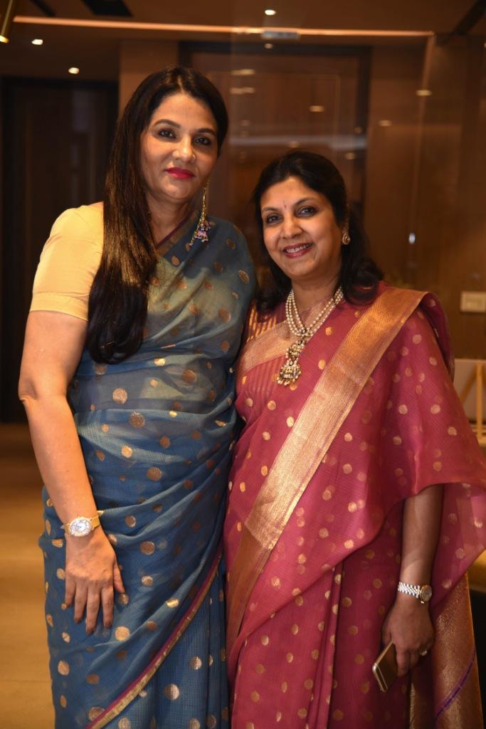 Designers Sunita Shekhawat and Vidhi Singhania