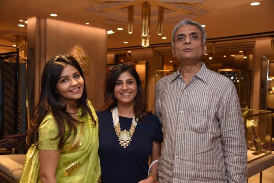 Niharika Shekhawat with Monia Jajoo & Rajveev