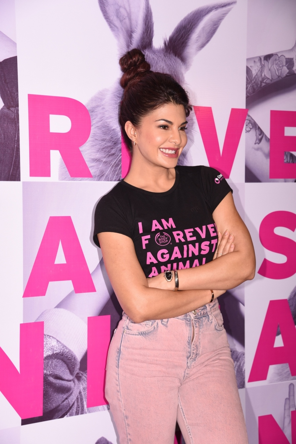 Jacqueline Fernandez, Brand Ambassador, The Body Shop at Forever Against Animal Testing Campaign Launch