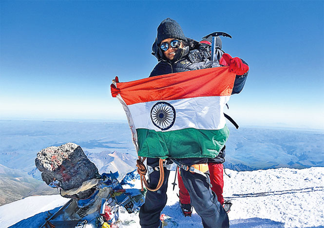Ain't No Mountain High Enough for Delhi Girl Saachi Soni