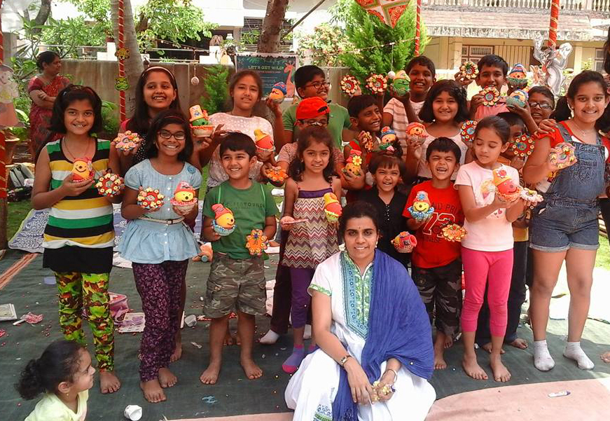 This Ex-Corporate Honcho Is Igniting a Love for Art and Science in Belgaum's Kids