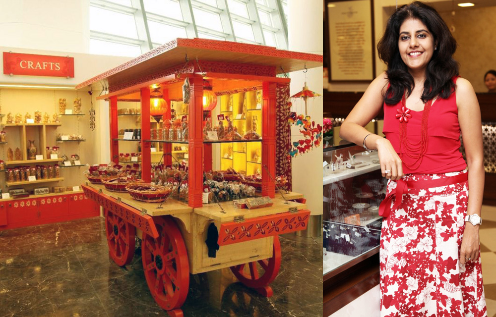 Her Stores Are the First and Last Stop for Foreign Tourists in India's Capital