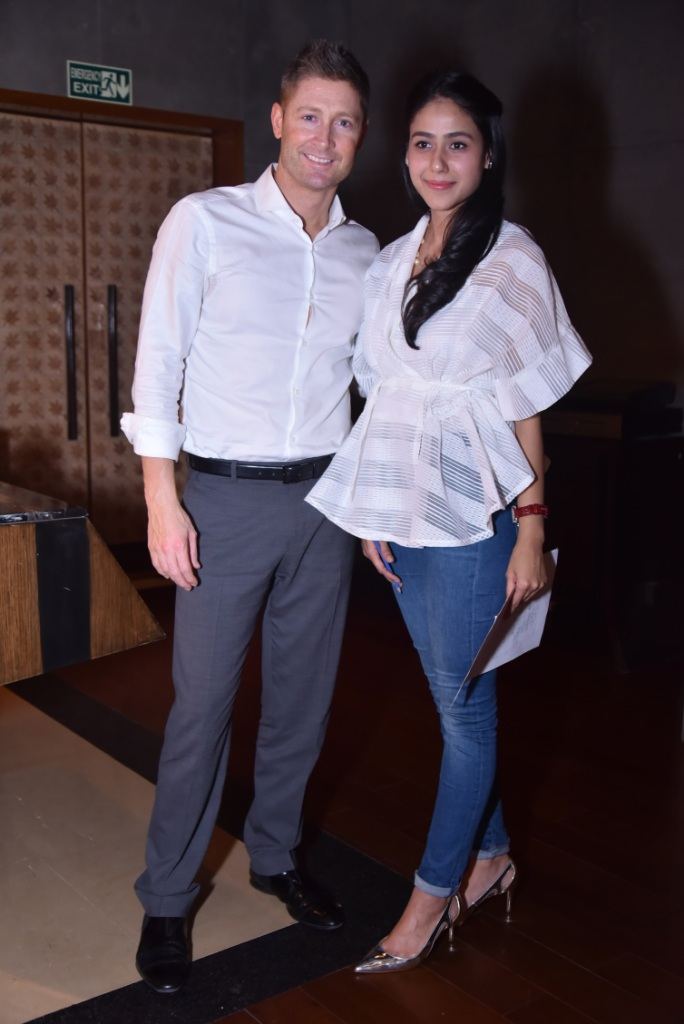 Nmami Agarwal with Michael Clarke.JPG