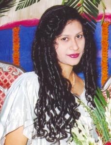 Prerona Roy young