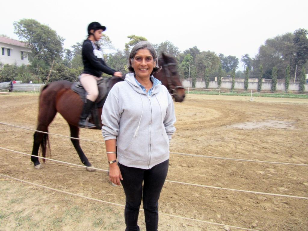 Beeya Isn't Horsing Around – Her Riding Facility Has a Deeper Agenda