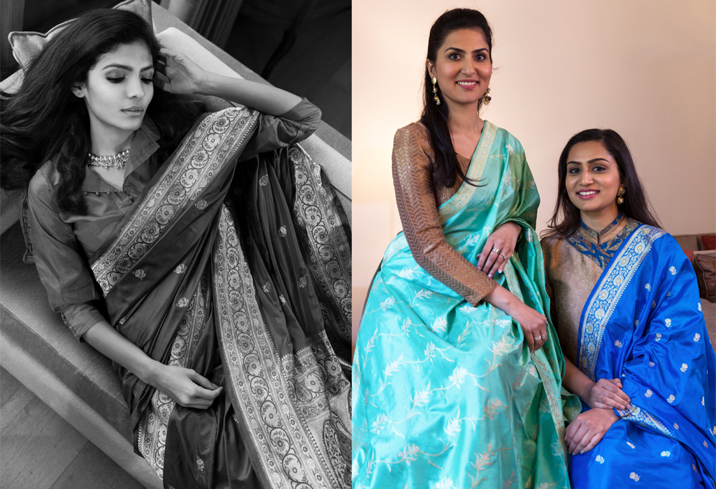 Why Aanchal and Akshita Left Careers Abroad to Revive the Benarasi Sari