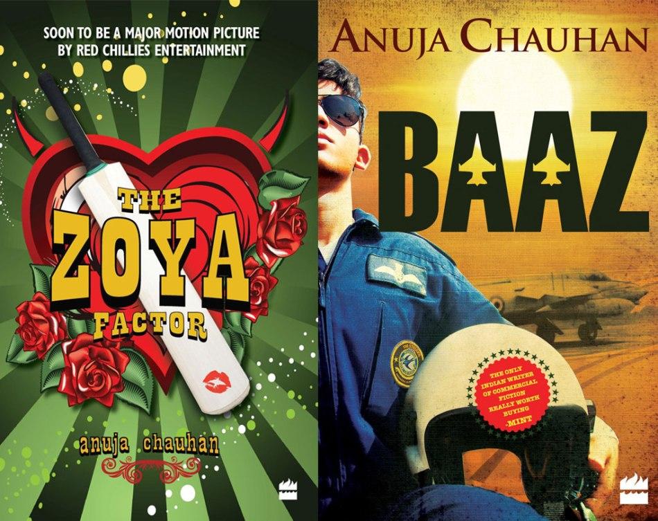 Anuja-Chauhan-books-The-Zoya-Factor-and-Baaz