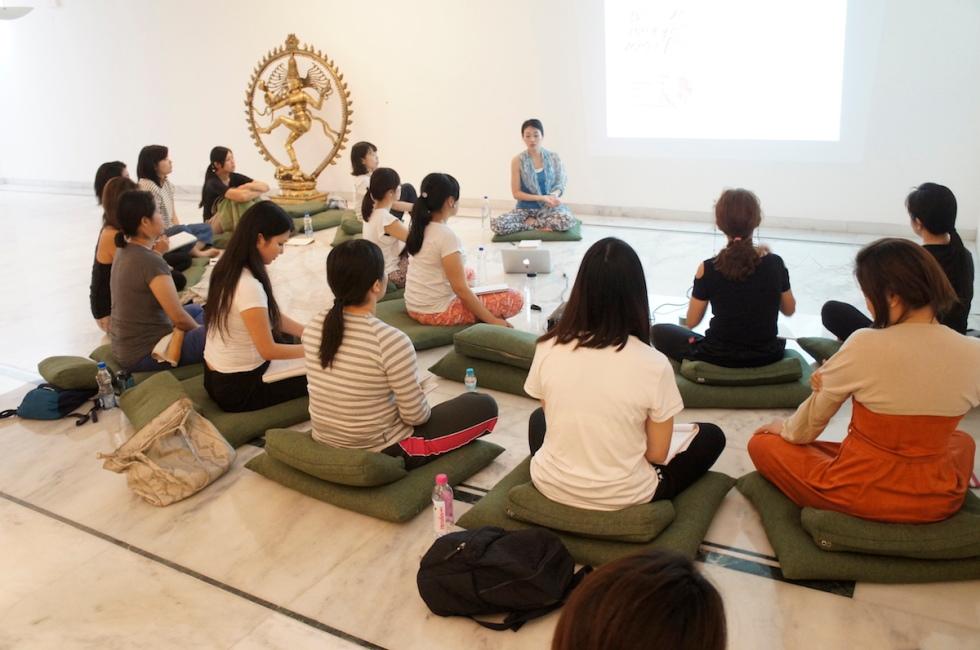 Aya teaching.JPG
