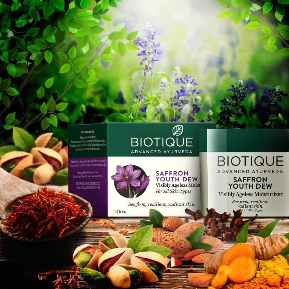 Bio Saffron Dew Product shot