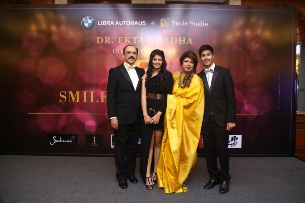 ekta chadha family