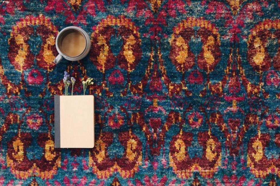 LUXE Carpet in Terra. Sari Silk.JPG
