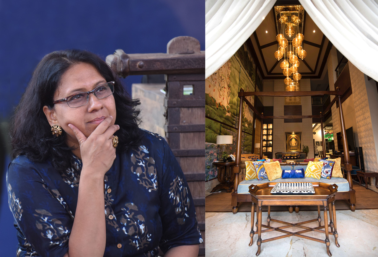200-Year-Old Forts or Posh New Villas, It's All in a Day's Work for Ritu