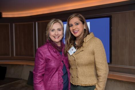 Hillary-Clinton-&-Meera-Gandhi