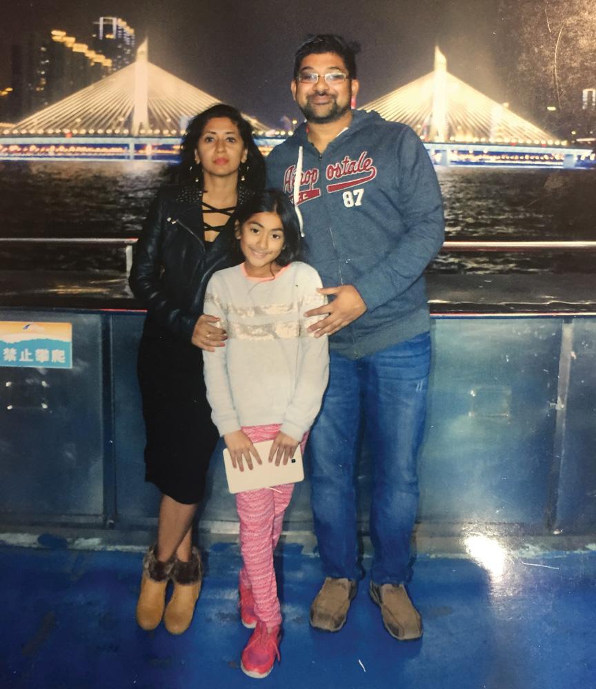 Molina-Asthana-family