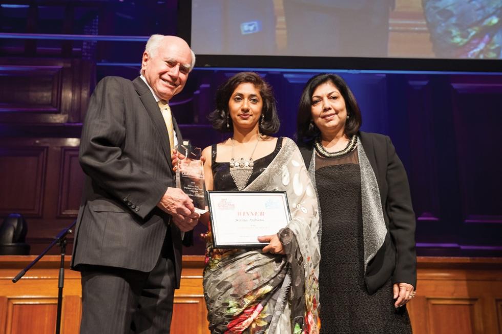 Molina-receiving-award