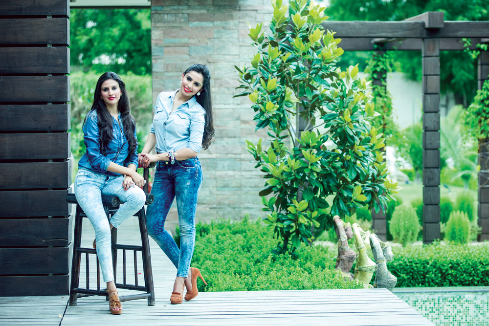 Designer Sisters Return from London and New York, Have a Butterfly Effect in India