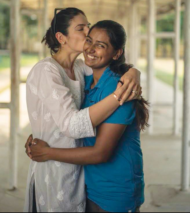 Shaana Levy Bahl and Deepika Kumari