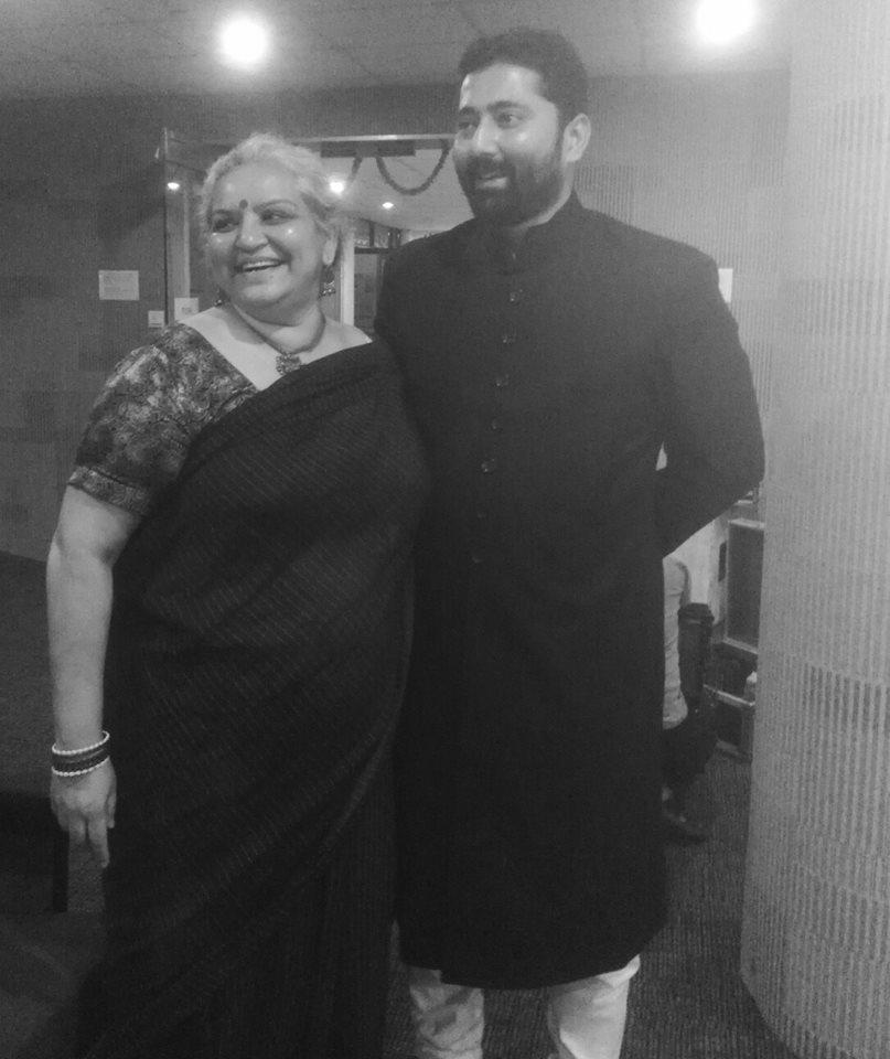 Madhavi Kuckreja and Askari Naqv