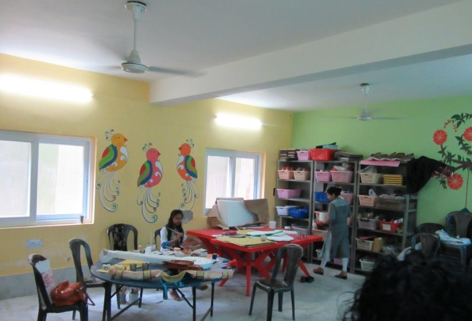 Mother Miracle School art room