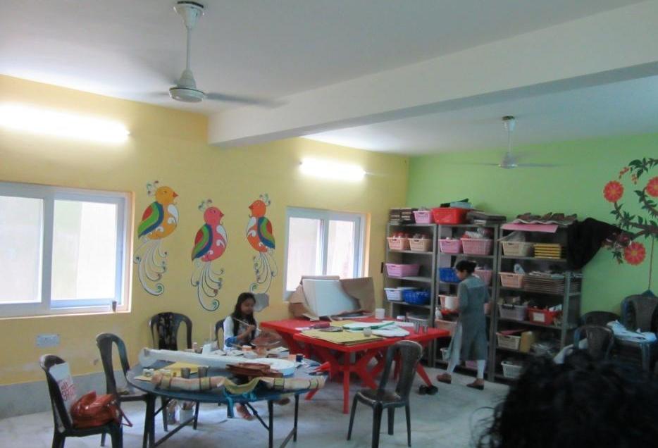 Mother Miracle School art room