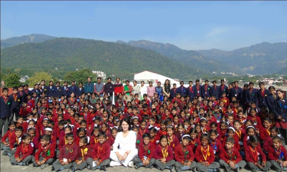 Shahla school kids