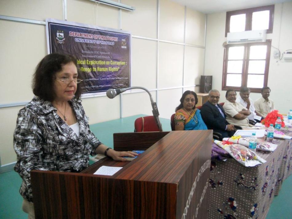 Sigma at Univ of Madras