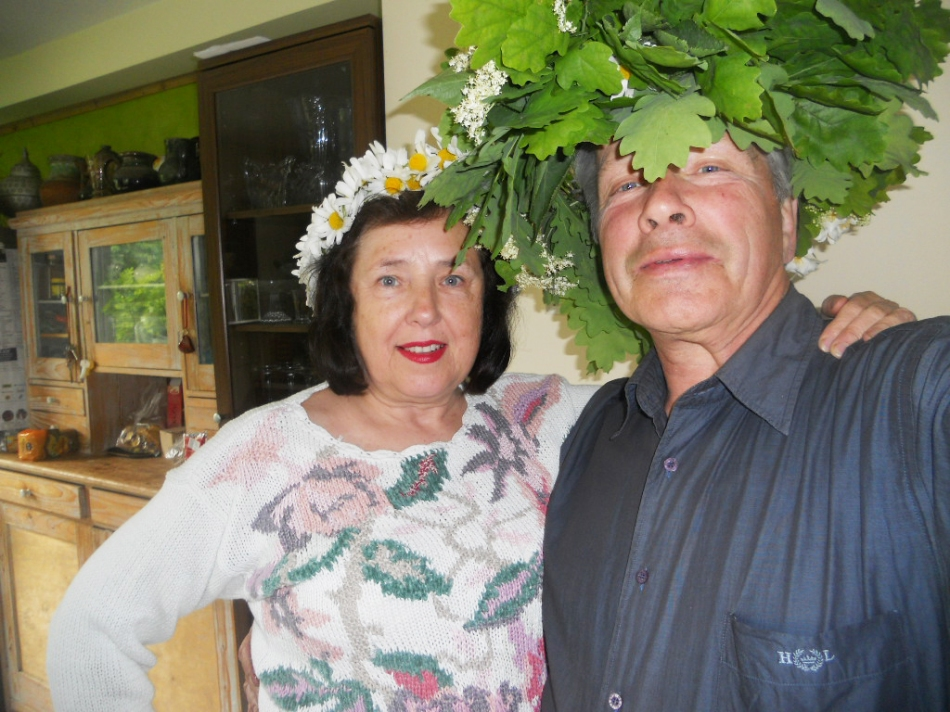 Sigma with husband