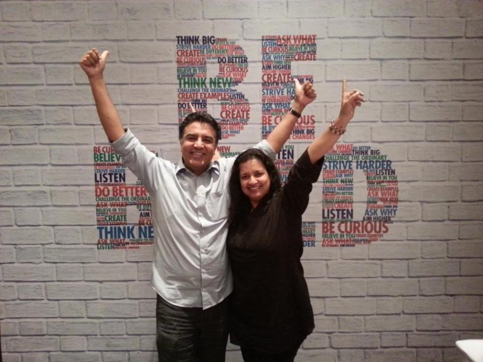 Namrata and Sanjay Durgan