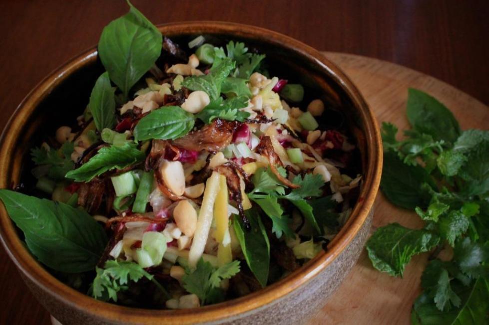 Asian Mango Salad