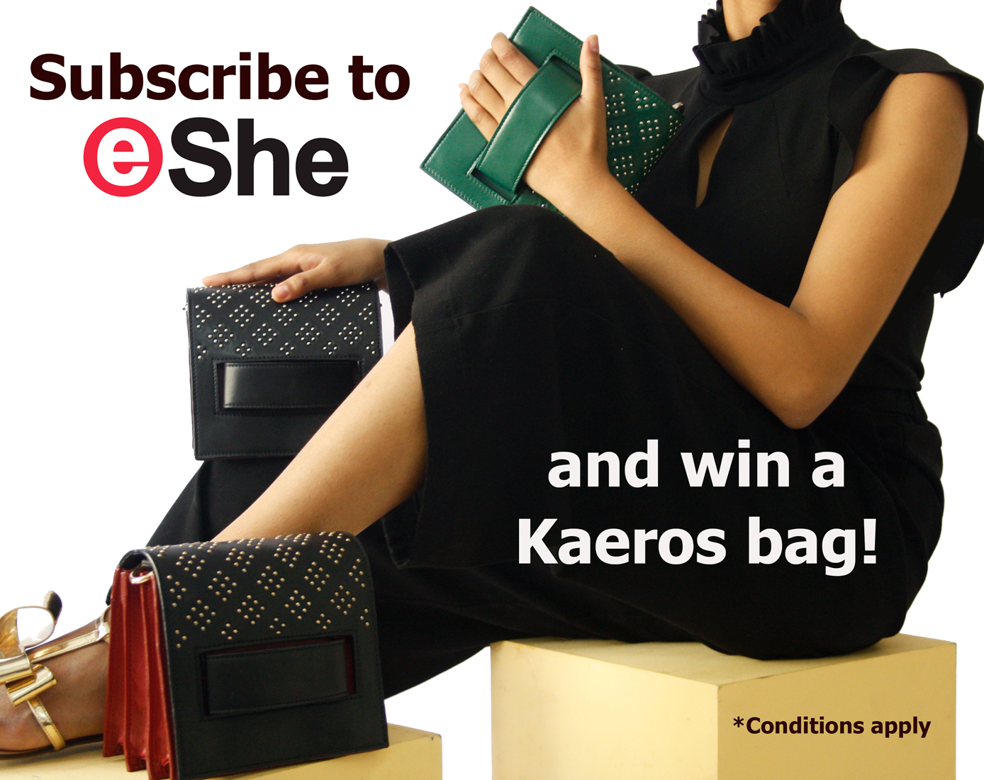 Subscribe to eShe Magazine and Get a Handcrafted Minaudière Along With It!