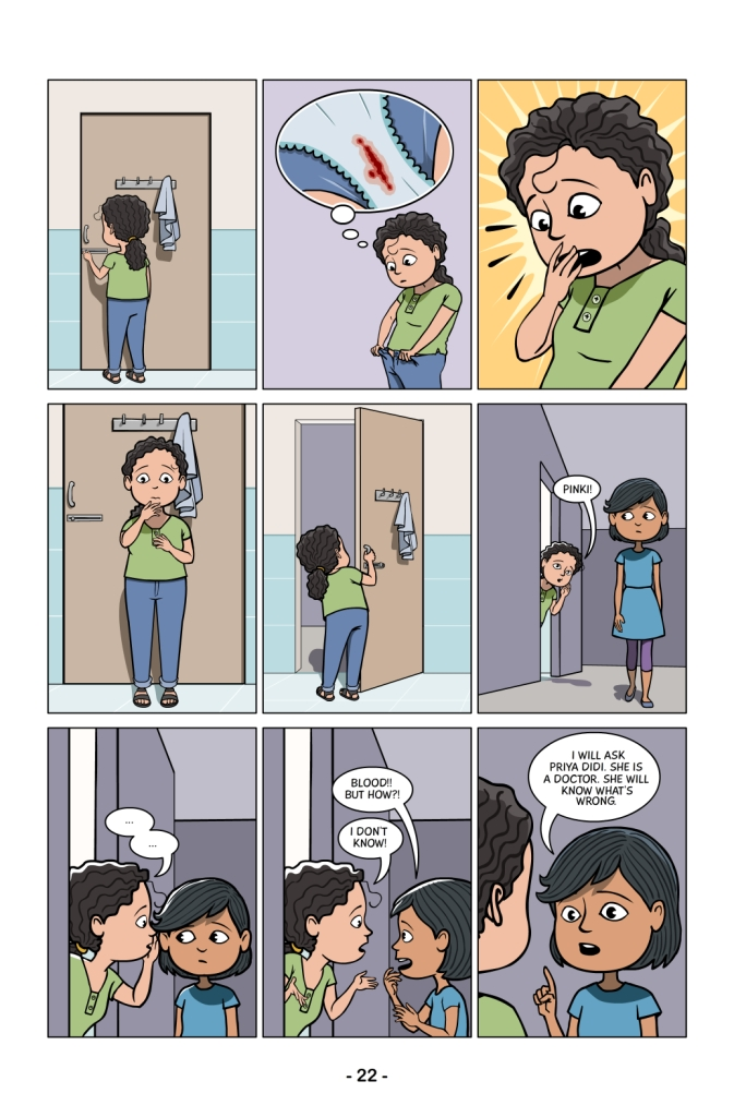 Menstrupedia comics