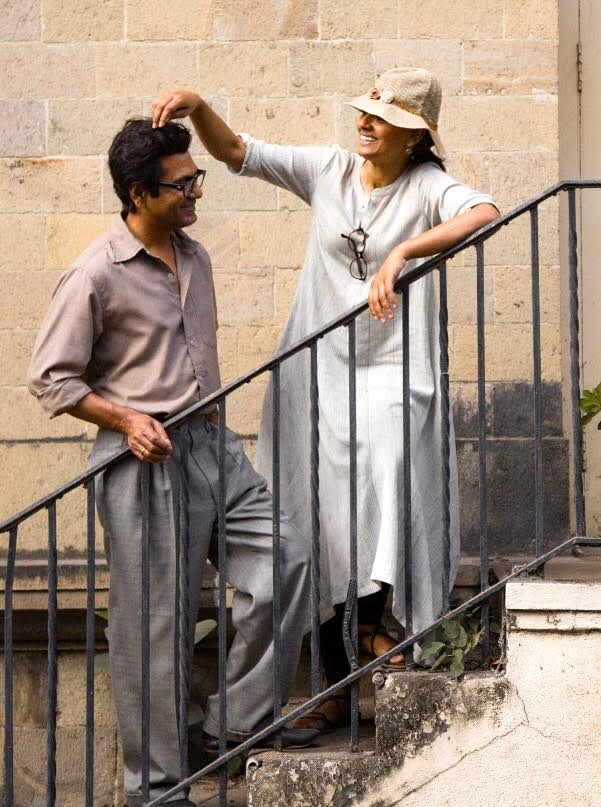 Nandita Das on set of Manto 3