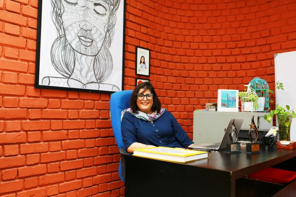 Home @ Work: She Runs an Award-winning Creative Agency from Her Mom's Garage