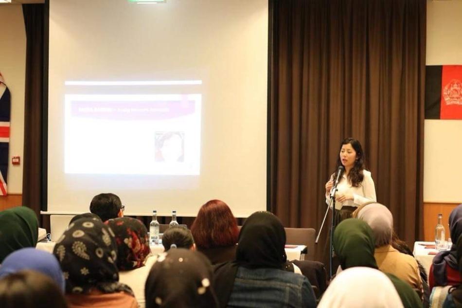 Zahra Rasouli talk.jpg