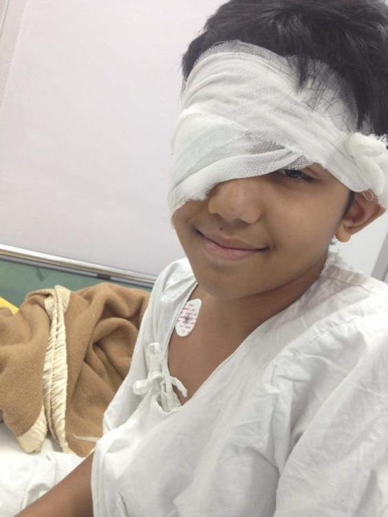 Aadi in hospital