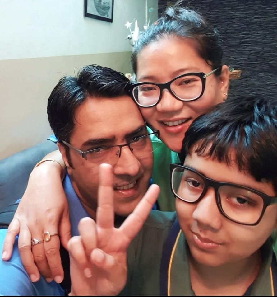 Asha and family
