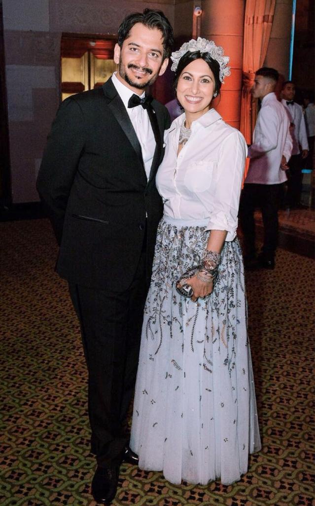 Jay Lakhani and Deepa Gurnani (1)