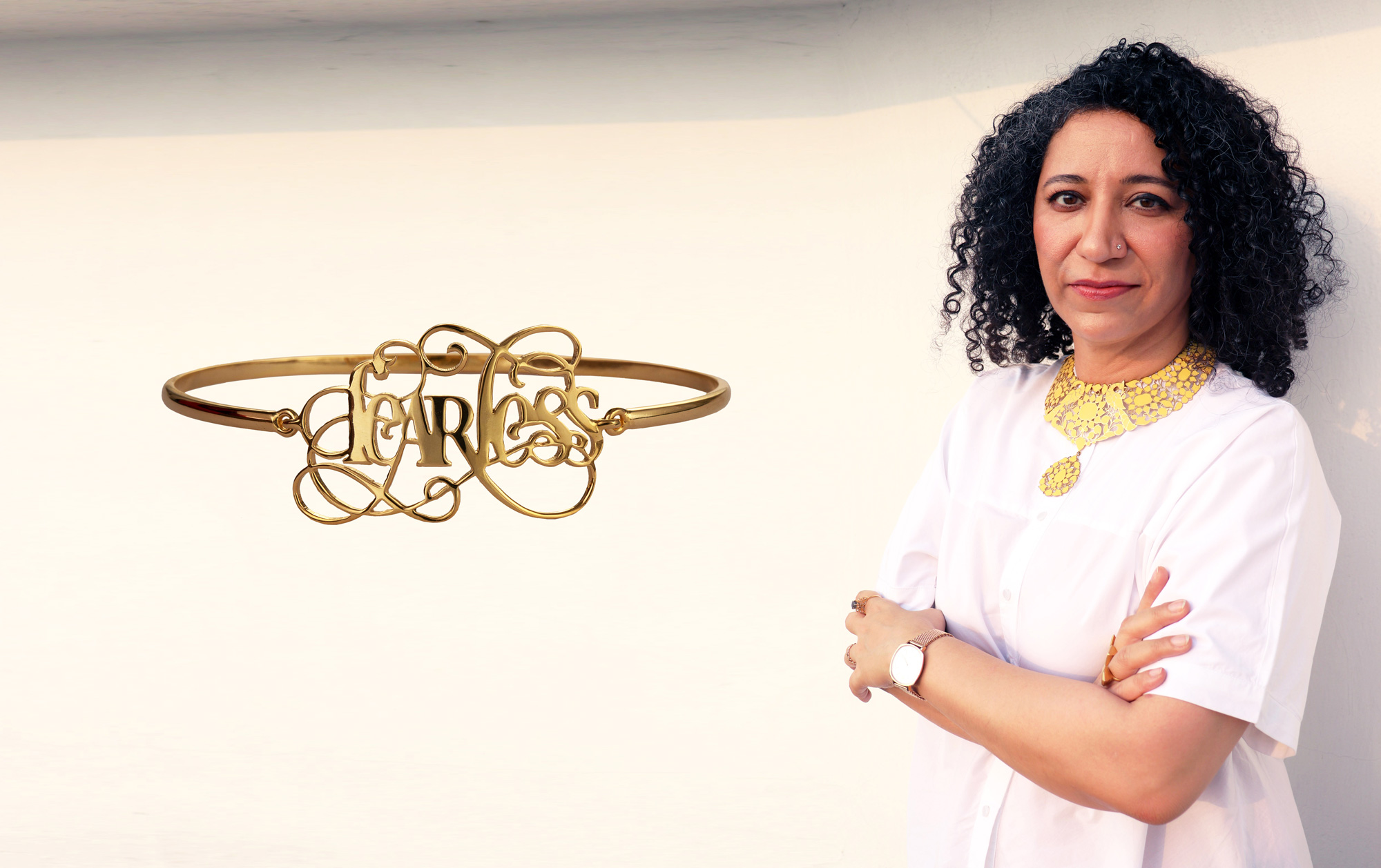 Her Jewellery Has a Message for Women: Be Fierce, Be Fearless, Be Irrepressible