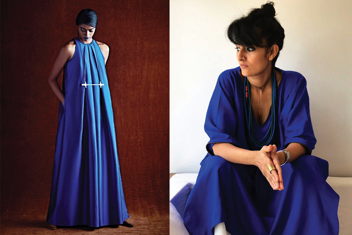 Feminist Blue: How a Matrilineal Tribe in Africa Inspired This Indian Fashion Designer