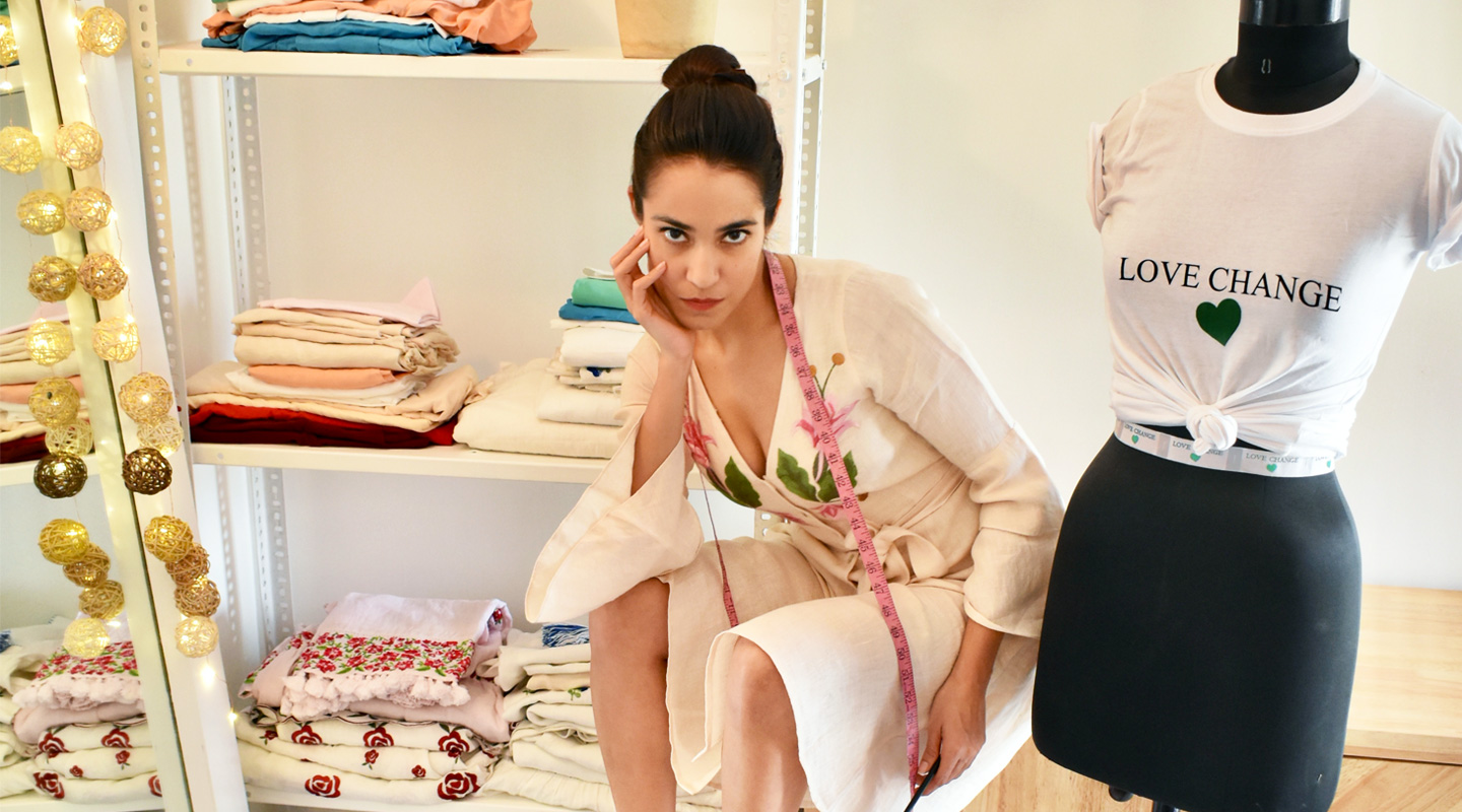 How Dhirta's Label LOVE CHANGE is Styling a Healthier Future for Fashion