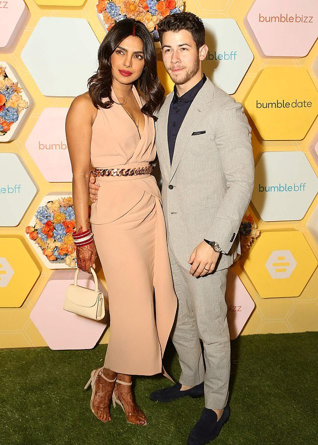 Priyanka Chopra Bumble event